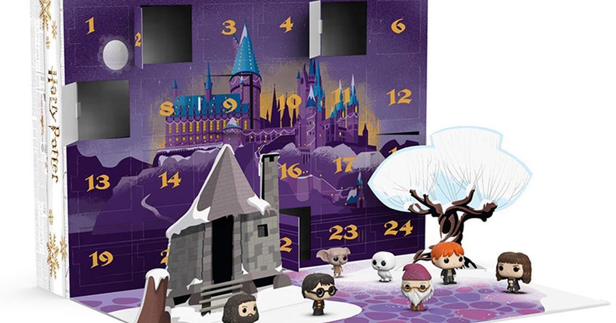 Calendario Dellavvento Gamestop.Harry Potter Il Magico Calendario Dell Avvento By Funko