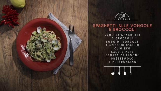 Ricetta degli spaghetti alle vongole