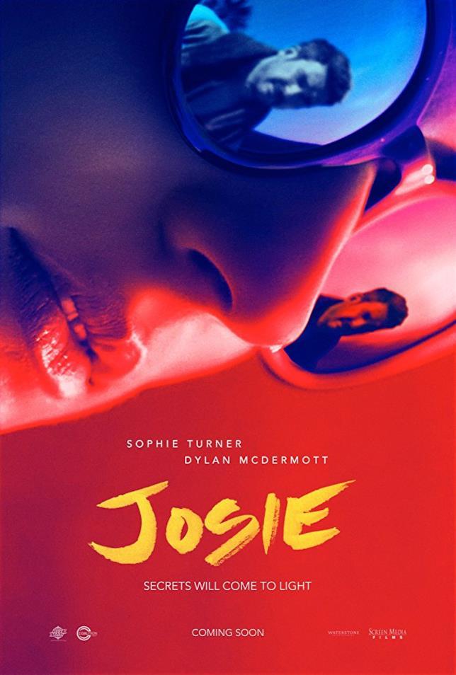 La locandina di Josie, film thriller di Eric England avente come protagonista Sophie Turner