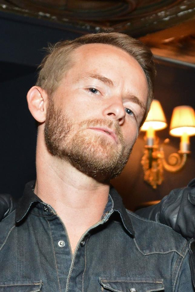 Christopher Kennedy Masterson in una foto recente