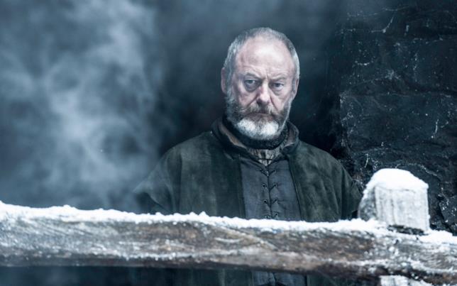 Lo sguardo impassibile di Ser Davos