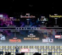 Kevin Feige sul palco del San Diego Comic-Con