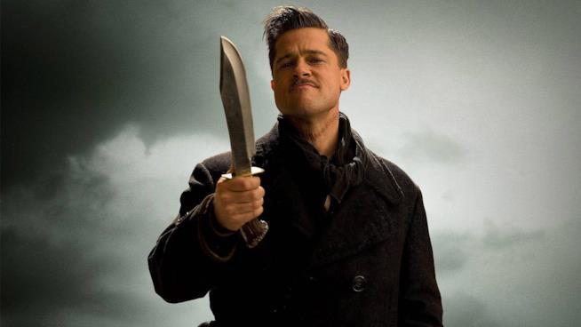 Brad Pitt è il tenente Aldo Raine