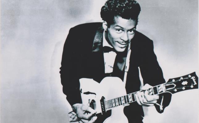 Una vecchia foto di Chuck Berry