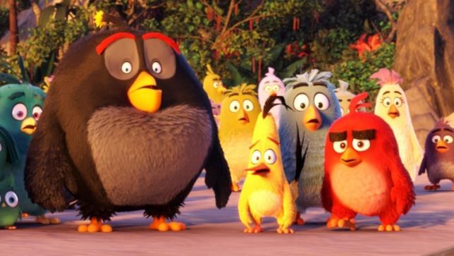 I protagonisti di Angry Birds: il film