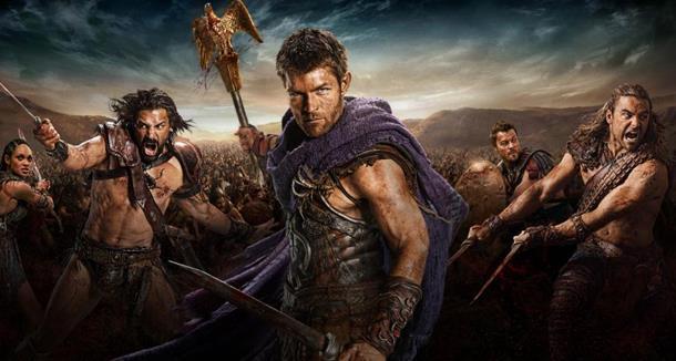 Spartacus: il cast