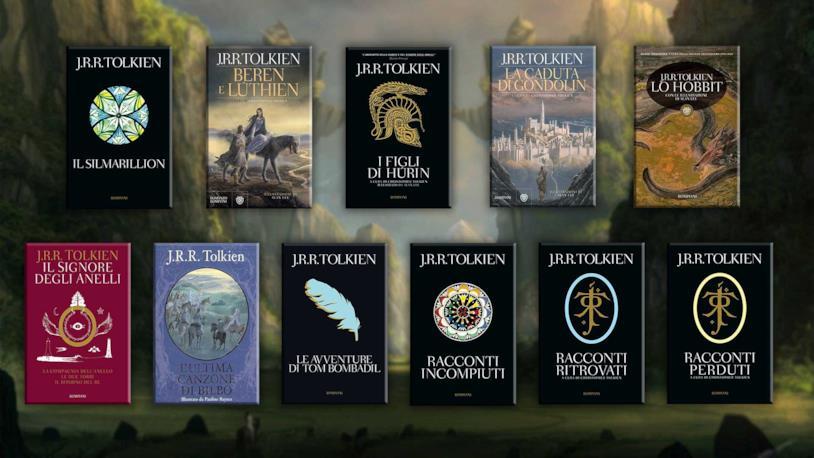 Tutte le storie e i racconti di Tolkien sulla Terra di Mezzo