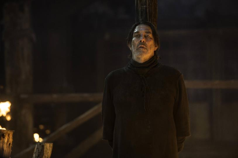 Mance Rayder in una scena di Game of Thrones