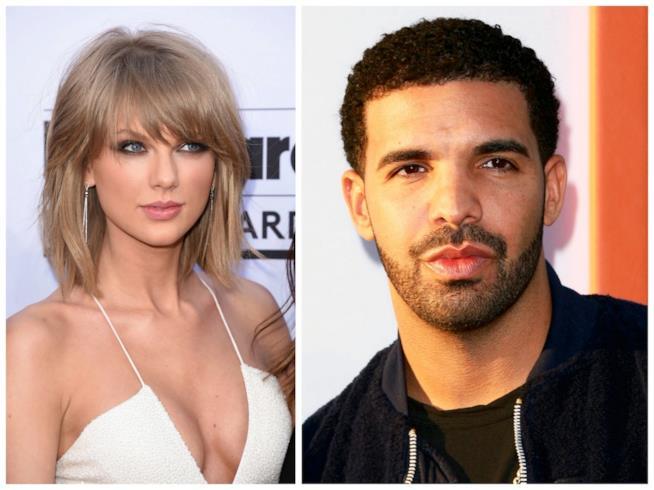 Primo piano di Drake e Taylor Swift