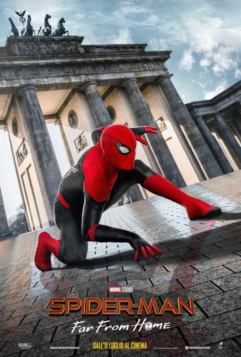 Spider-Man visita Berlino in un nuovo poster di Far From Home