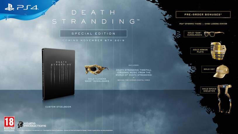 Death Stranding e la sua Special Edition