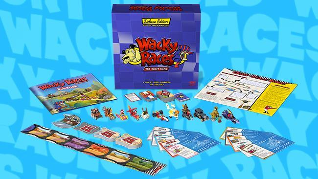 Il gioco da tavolo delle Wacky Races