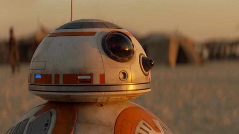 BB-8, uno dei personaggi più amati di Star Wars 7
