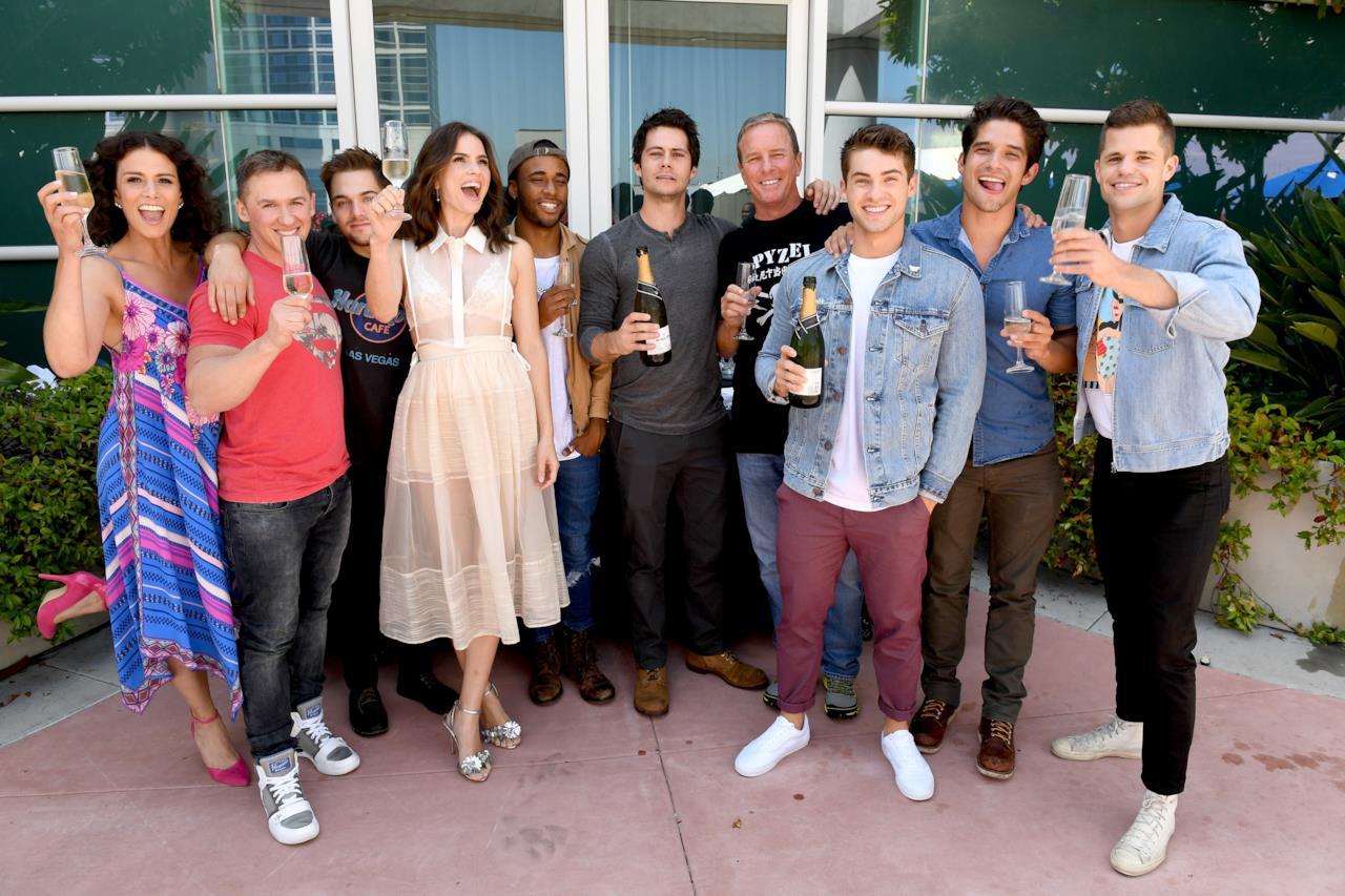 Il cast di Teen Wolf riunito al San Diego Comic-Con 2017