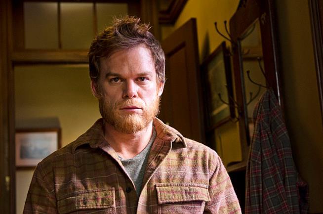 Una foto della scena finale della stagione 8 di Dexter