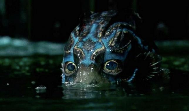 L'uomo-pesce ne La Forma dell'Acqua