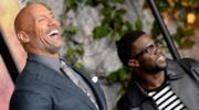 The Rock e Kevin Hart alla prima di Jumanji - Benvenuti nella giungla
