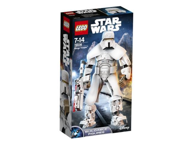 Dettagli della confezione del set di LEGO Range Trooper Buildable Figure