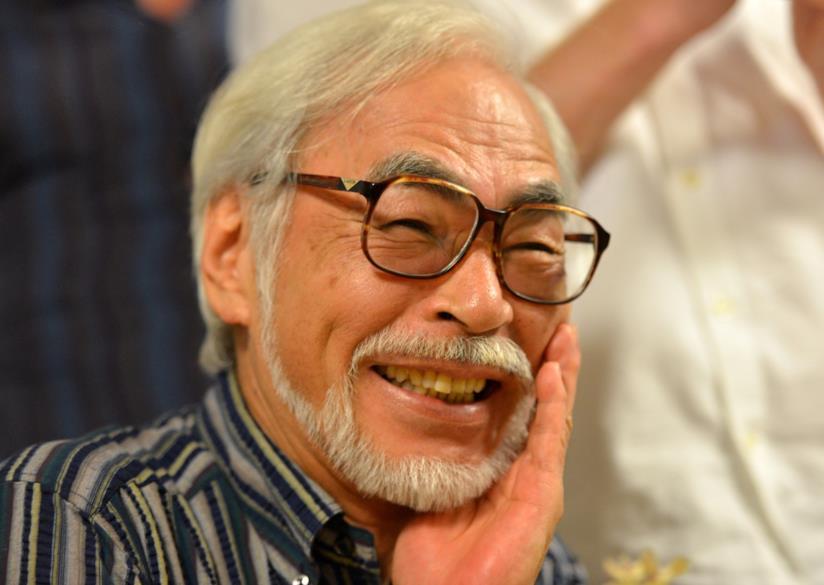 Hayao Miyazaki primo piano