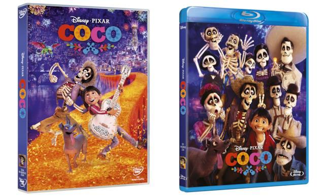 Le edizioni DVD e Blu-ray di Coco