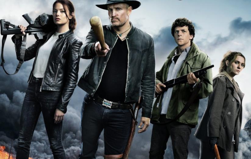I protagonisti di Zombieland 2