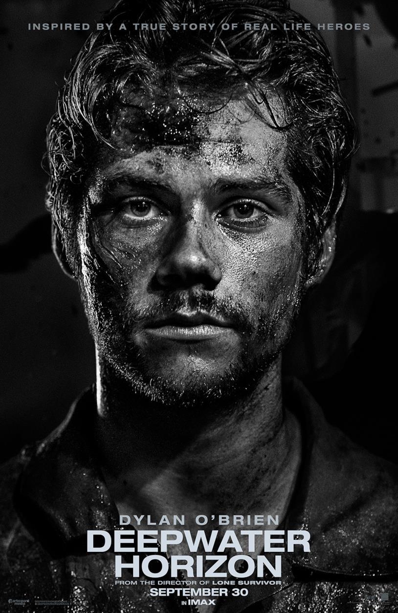 Dylan O'Brien nel film Deepwater Horizon