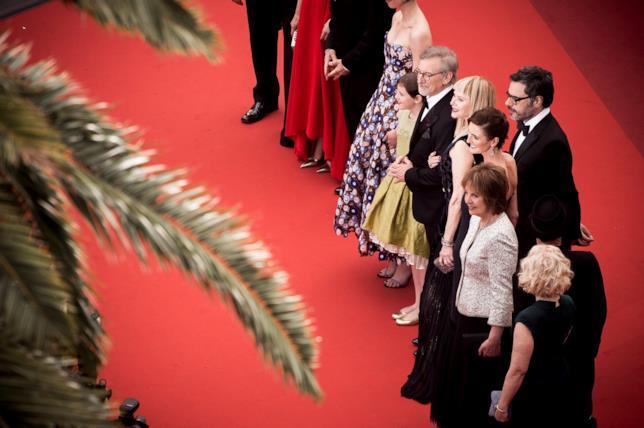 Il cast del film sul Red Carpet del Festival de Cannes