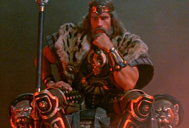 Conan il Barbaro: Arnold Schwarzenegger