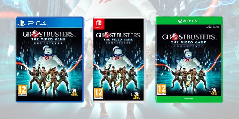 La boxart su console di Ghostbusters: The Video Game Remastered