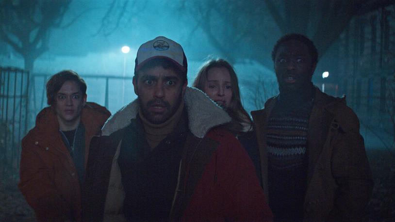 Una foto dei quattro protagonisti della serie TV Marianne