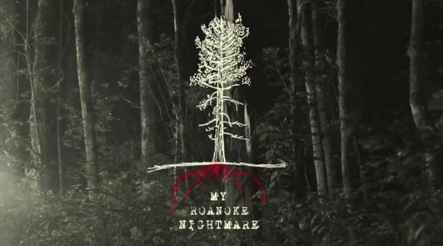 L'immagine a tema di American Horror Story: Roanoke