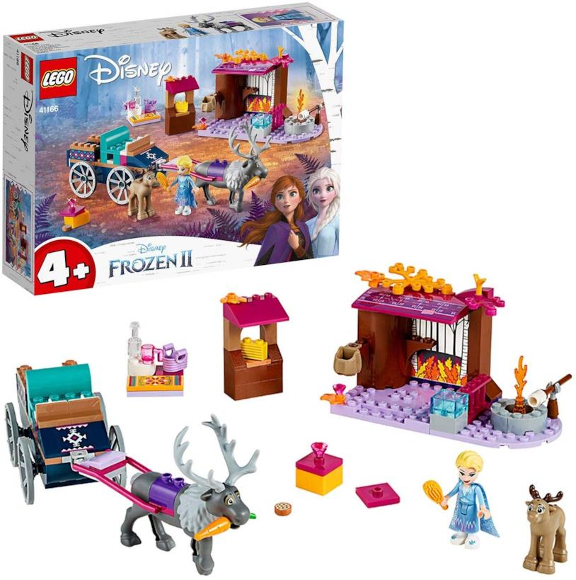L'avventura sul carro di Elsa - set LEGO di Frozen 2