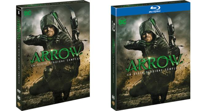 Arrow - stagione 6 - Home Video