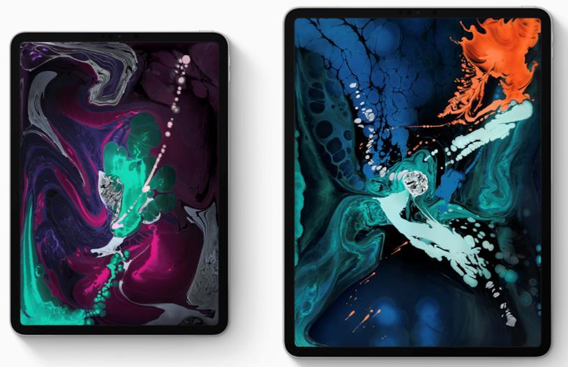 Immagine stampa degli ultimi iPad Pro lanciati da Apple