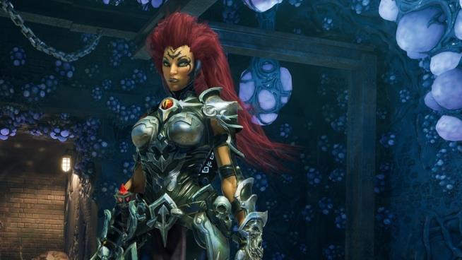 La letale bellezza di Furia in uno scatto di Darksiders 3