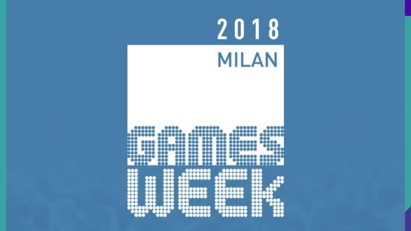 Il logo di Milan Games Week 2018