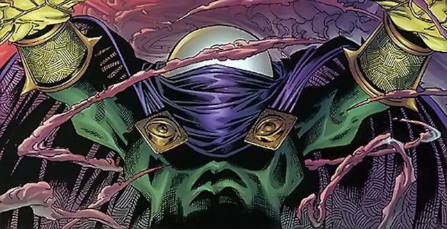 Il villain Mysterio, nemico di Spider-Man nel mondo Marvel