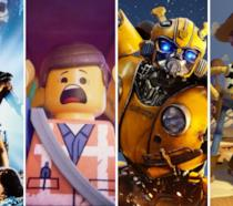 Le immagini dei film: I Dominatori dell'Universo, The LEGO Movie 2, Bumblebee e Toy Story