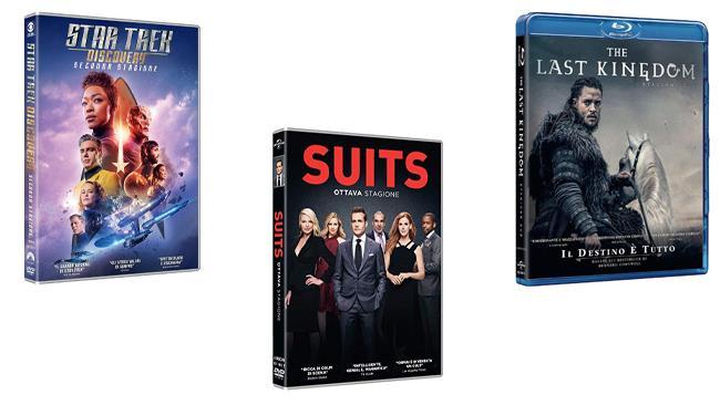 Suits - Stagione 8, Star Trek Discovery - Stagione 2 e The Last Kingdom - Stagione 2 nei formati DVD e Blu-ray