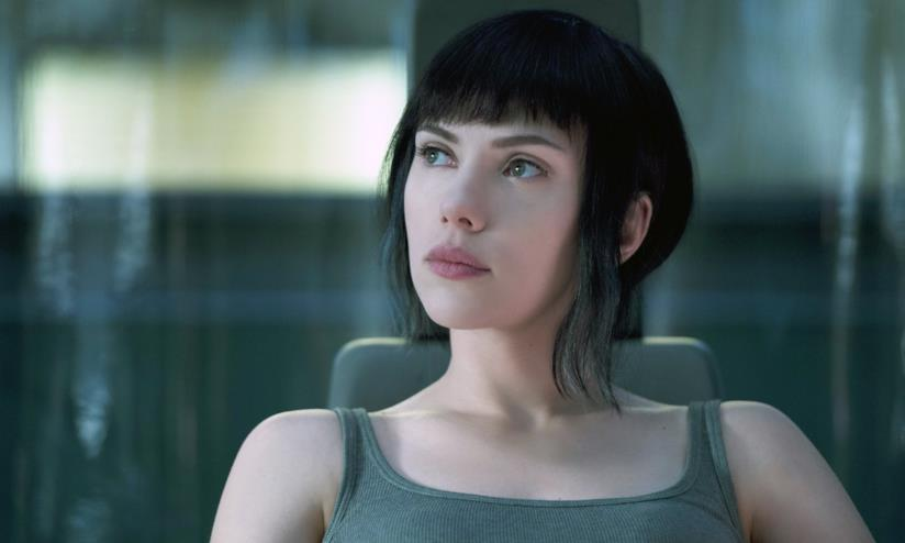 Scarlett Johansson in Ghost in the Shellì