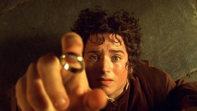 Elijah Wood è Frodo ne Il Signore degli Anelli