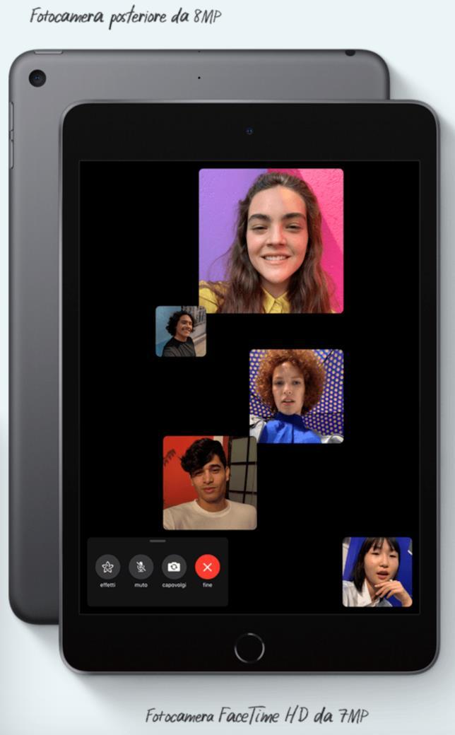 Immagine stampa del nuovo iPad mini di Apple