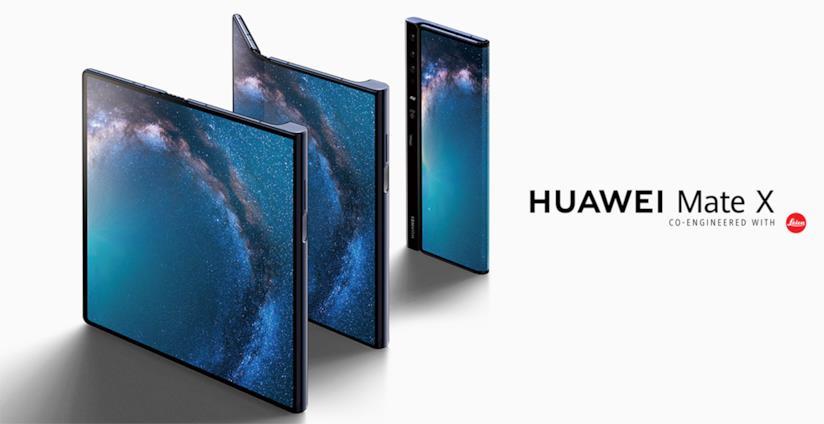 Immagine stampa di Huawei Mate X
