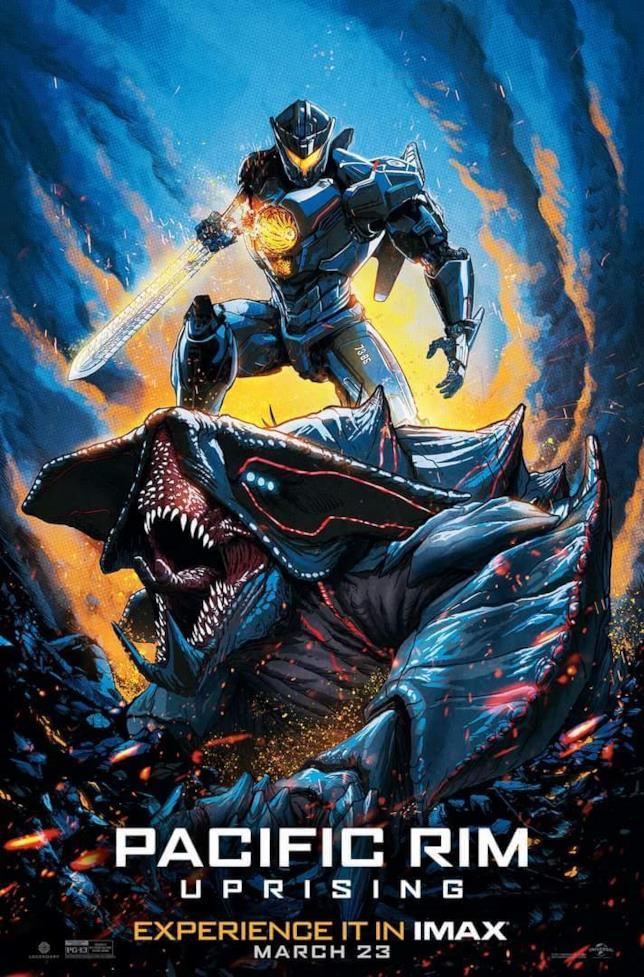 Il nuovo poster dedicato alla versione IMAX di Pacific Rim - La rivolta