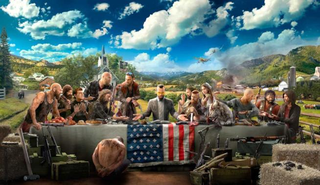 Key Art di Far Cry 5