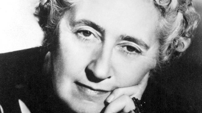 Primo piano di Agatha Christie