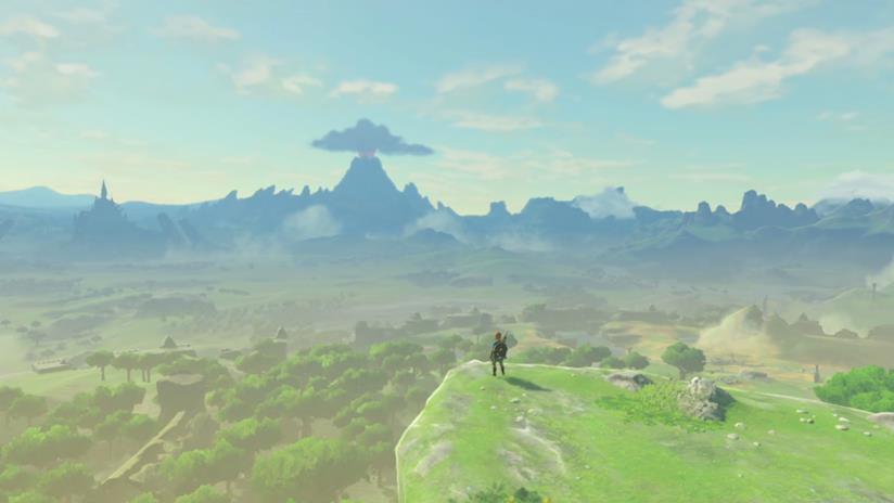 Un'immagine dal gioco The Legend of Zelda: Breath of the Wild