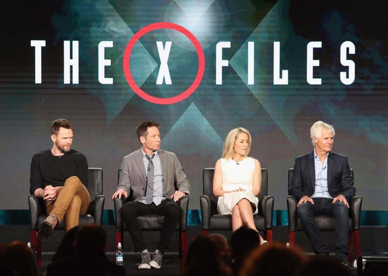 Il cast di X-Files al TCA Tour 2016