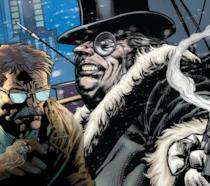 James Gordon (sinistra) e Pinguino (destra) in versione DC Comics
