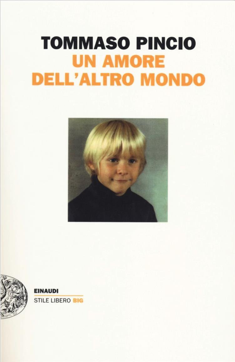 La cover di Un amore dell'altro mondo, romanzo di Tommaso Pincio